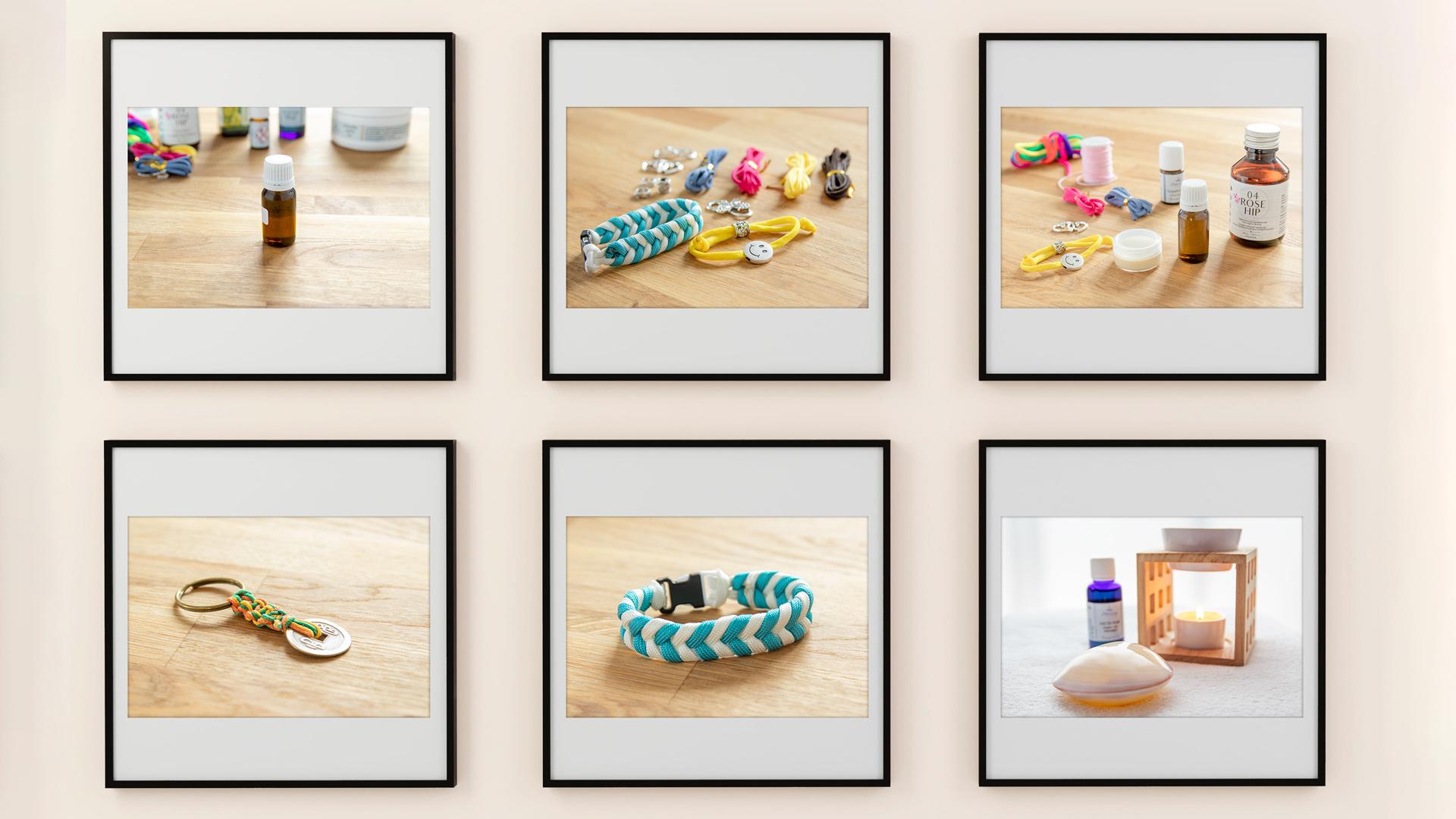 Die fotografische Inszenierung von Produkten schafft aus der Ferne den Rahmen für die Bestellung