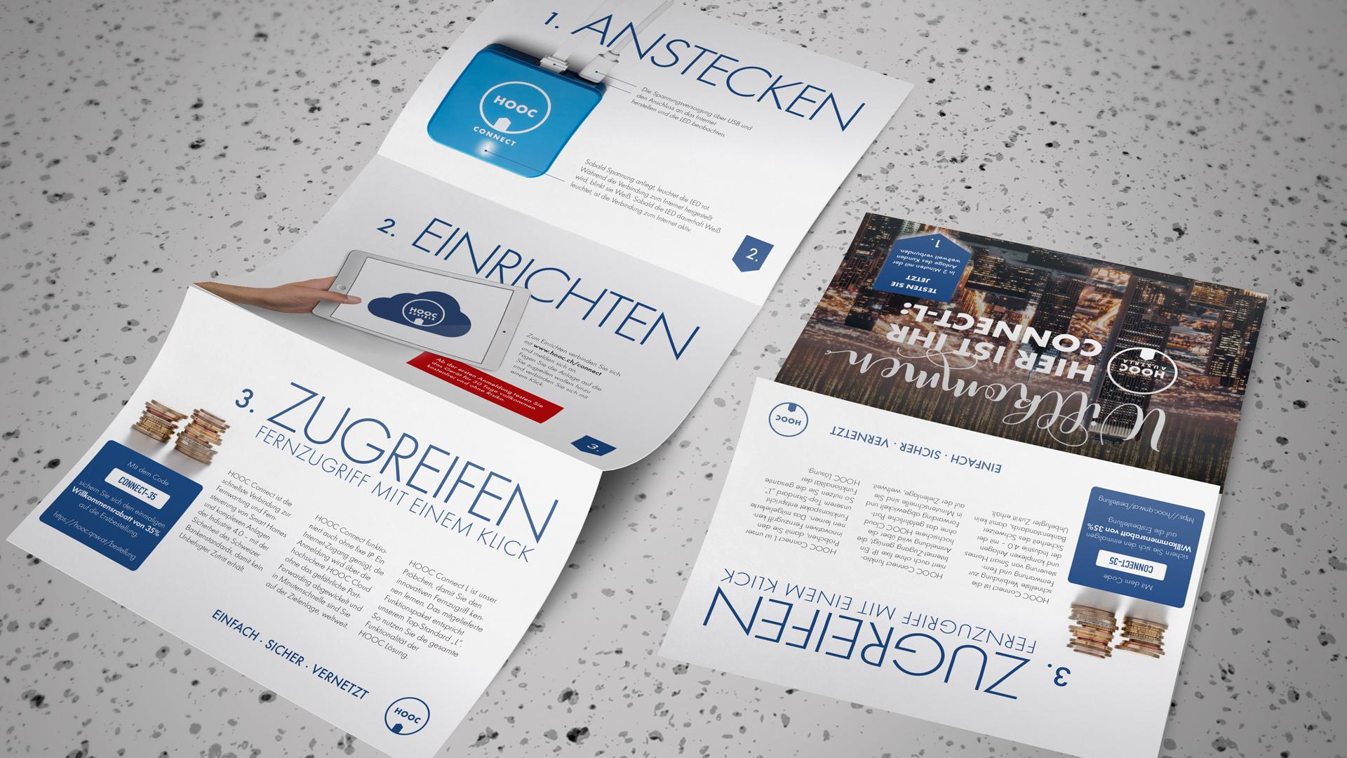 Flyer und andere Drucksachen sind überzeugende Botschafter mit Anfass-Qualität